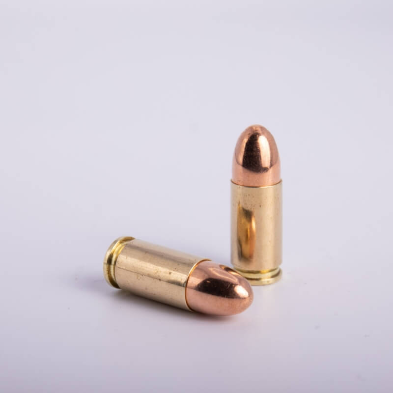 9 x 21 mm IMI (124 Grains CP/Fully Encapsulated)