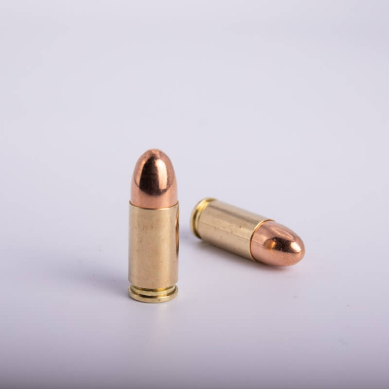 9 x 21 mm IMI (115 Grains CP/Fully Encapsulated)